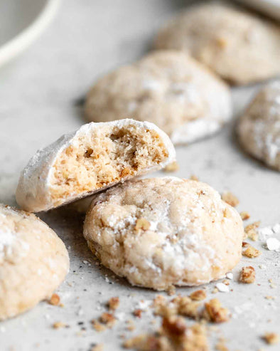 Gluten-Free Mexican Wedding Cookies
