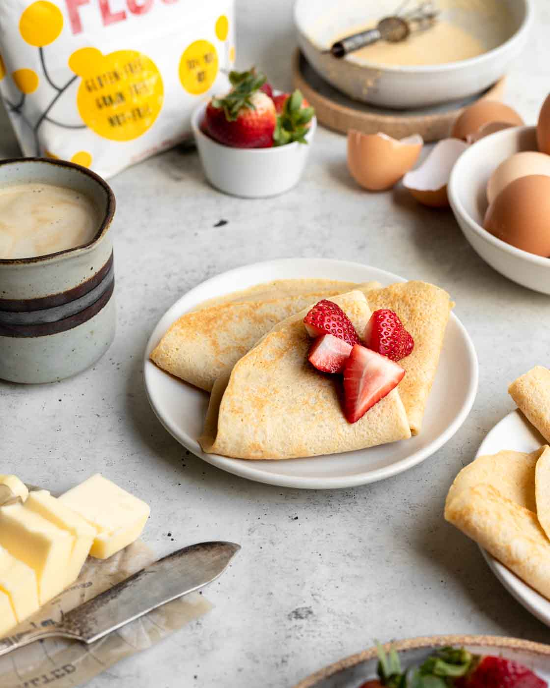 Easy Gluten-Free French Crepes Recipe