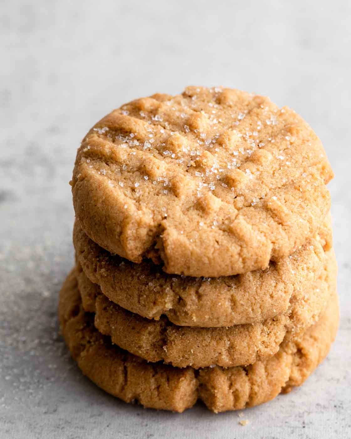 Gluten-Free, Grain-Free Peanut Butter Cookies Recipe