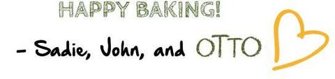 Happy Baking From Otto's Cassava Flour