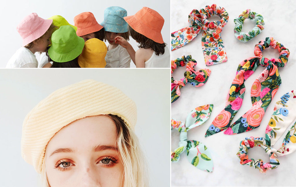 DIY Hats and Hair Accessories