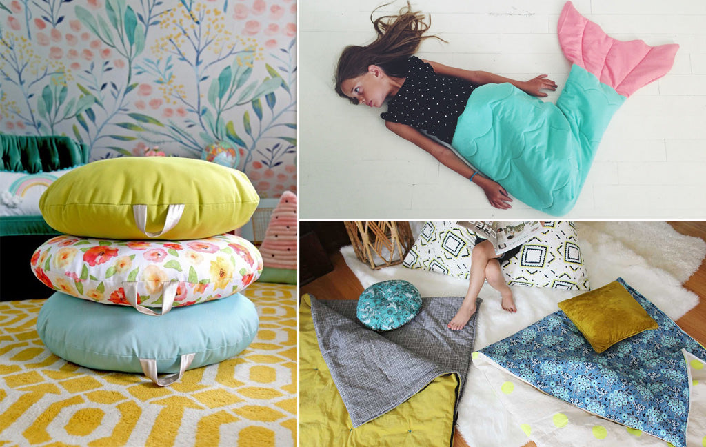 DIY Sleeping Bags, Blankets and Pillows