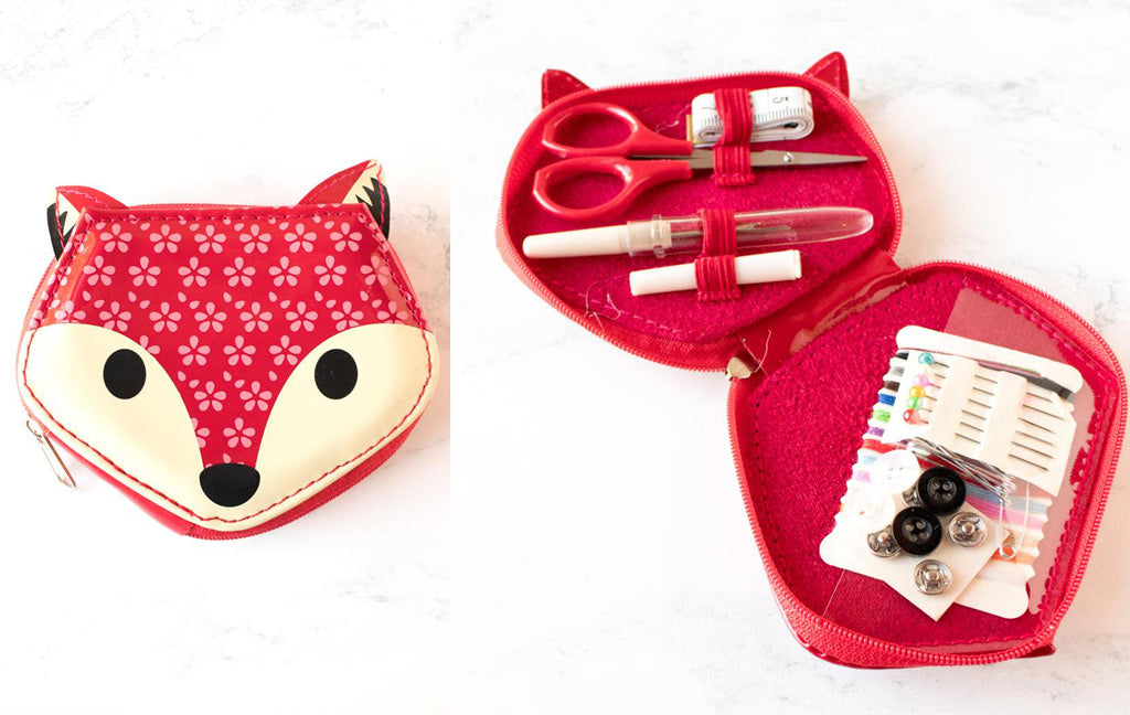 Fox Sewing Case