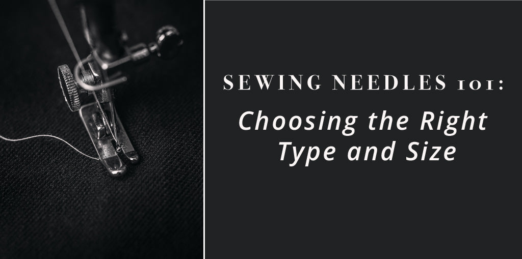 Sewing Machine Needle Title Card