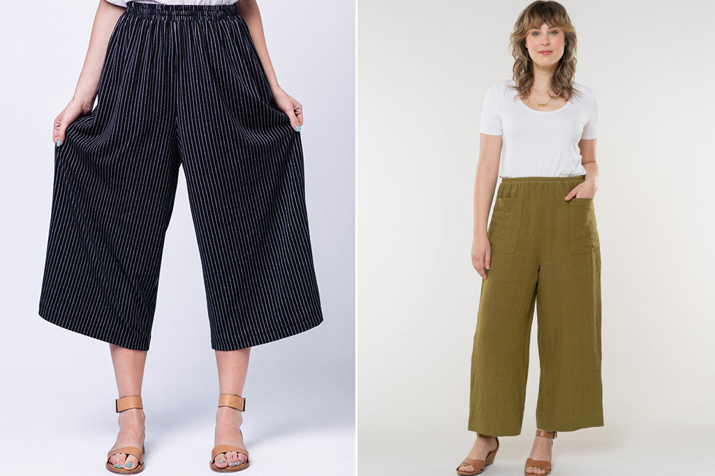 Wide leg pant patterns