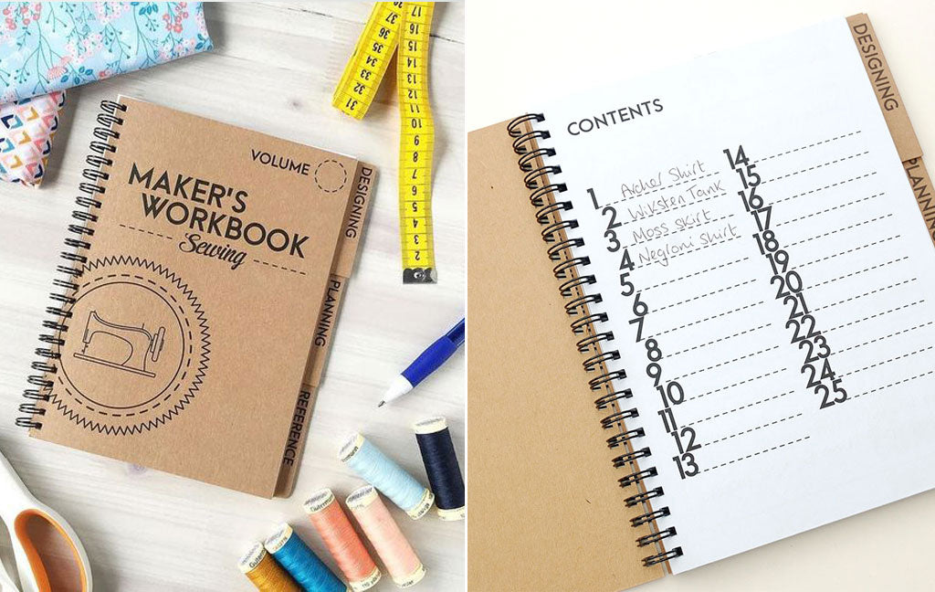 Maker's Workbook Sewing