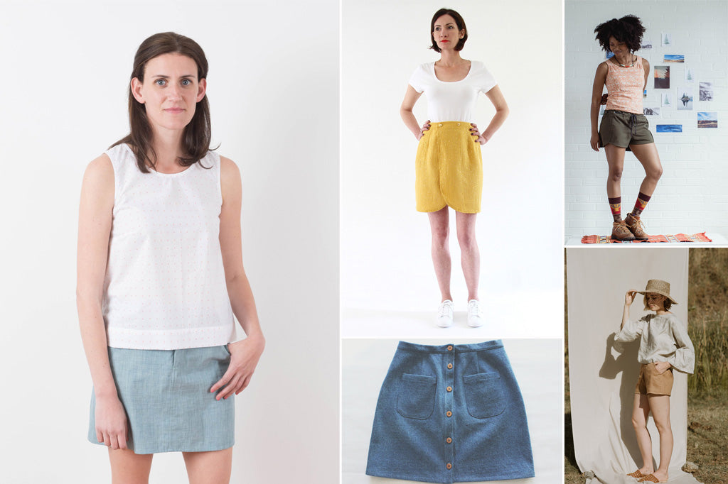 Women's Shorts and Skirt Patterns