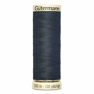Gutermann Sew-All #118 Burnt Charcoal