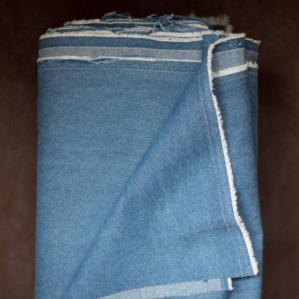 Merchant & Mills 8oz. Washed Denim Medium - 1/2 metre
