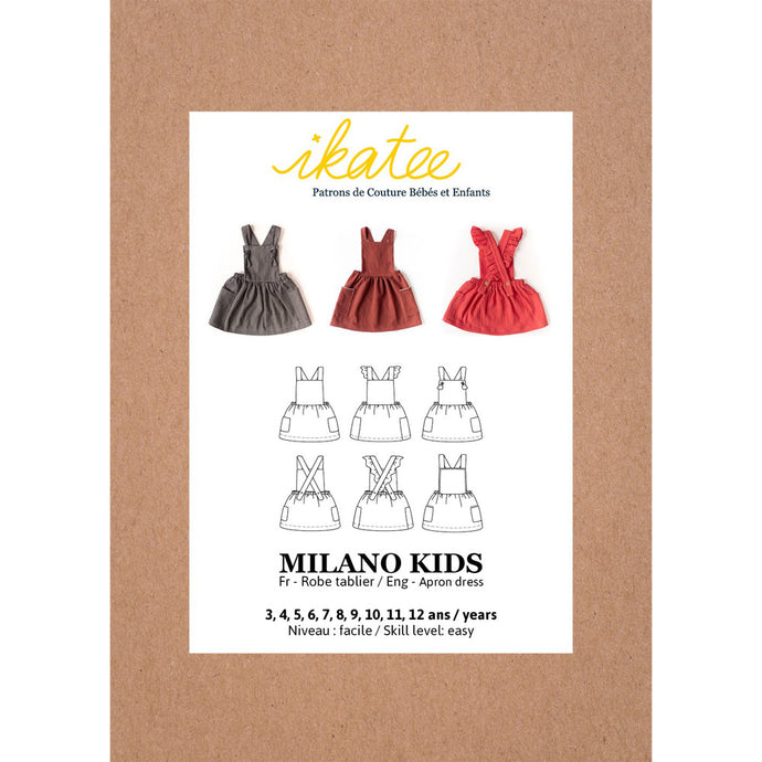 Ikatee Milano Kid's dress pattern