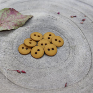 Atelier Brunette 12mm buttons in ochre