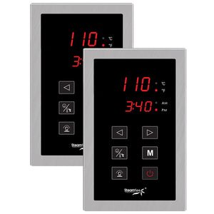 Choose Your Control Panel Finish - Brushed Nickel
