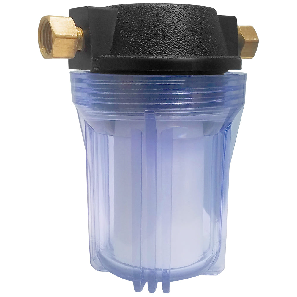 Included: In-Line Water Filter