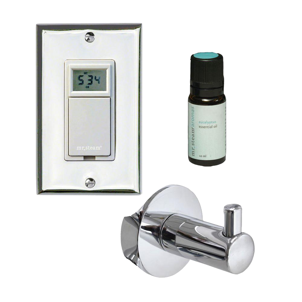 Mr Steam - Valet Package with Digital Timer for Broadway Collection