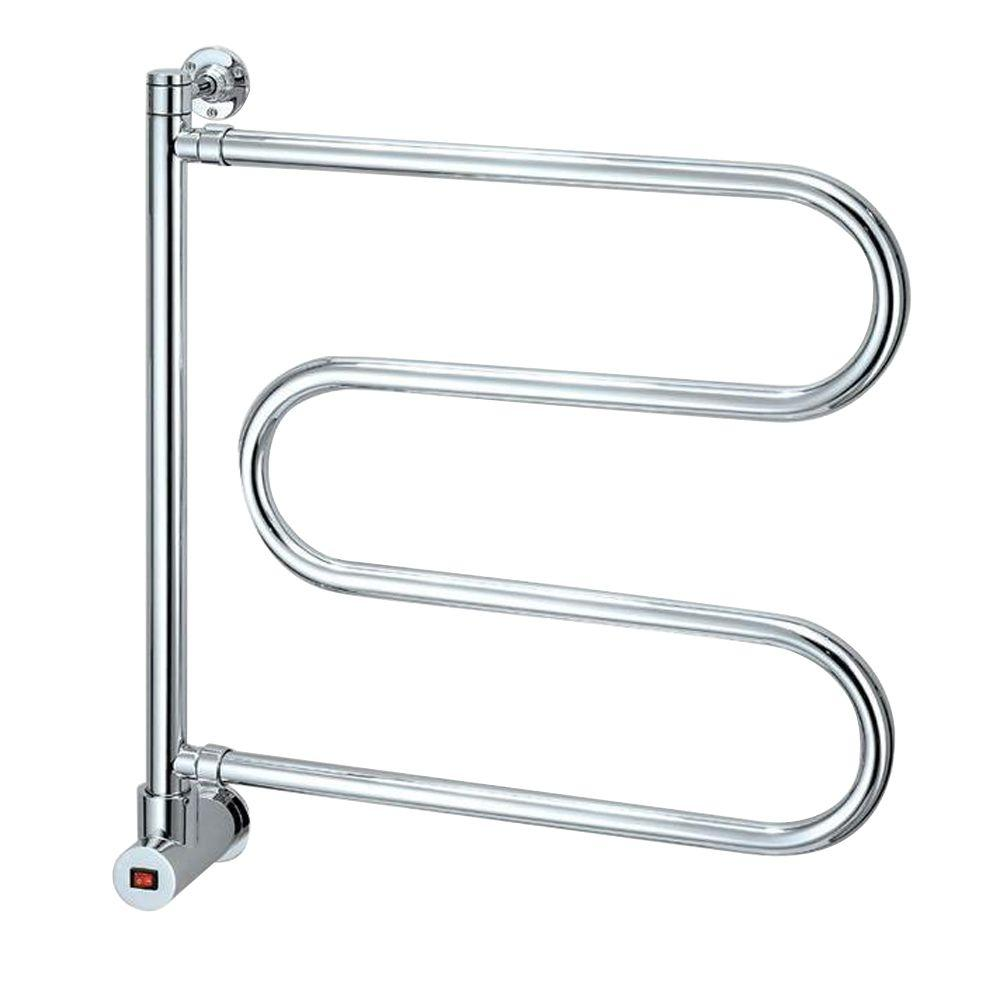 Mr Steam – Wall Mounted Pivoting 4-Bar Electric Towel Warmer