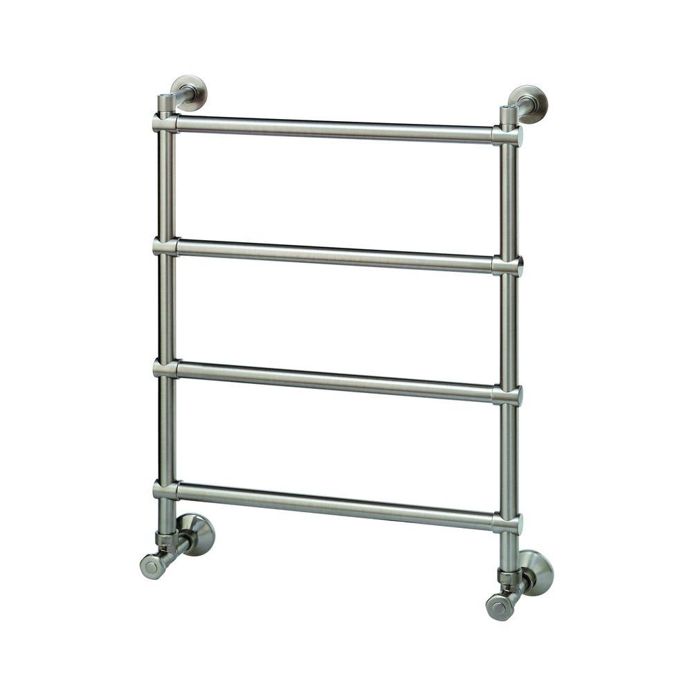 Mr Steam – Wall Mounted 4-Bar Electric Towel Warmer in Polished Chrome