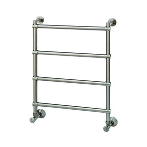 Mr Steam - H542 Wall Mounted 4-Bar Electric Towel Warmer in Brushed Nickel