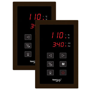 Choose Your Control Panel Finish - Oil Rubbed Bronze