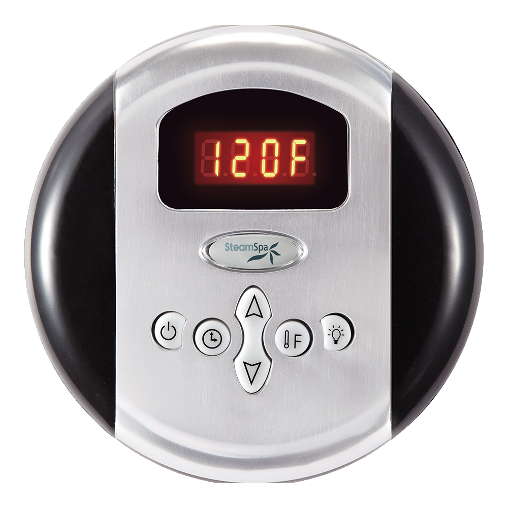 Round Analog Control Panel w/ Programmable Memory Setting For All SteamSpa Models