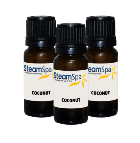 SteamSpa Essence of Coconut Aromatherapy Oil Extract Value Pack