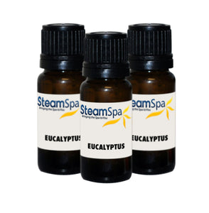 SteamSpa Essence of Eucalyptus Aromatherapy Oil Extract Value Pack