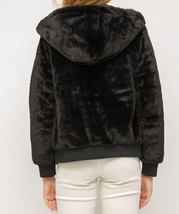 Mystree Faux Fur Coat