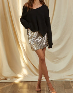BT Sequin Mini Skirt