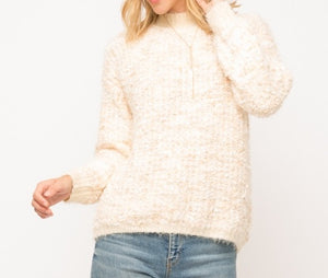 Blush Mix Color Sweater
