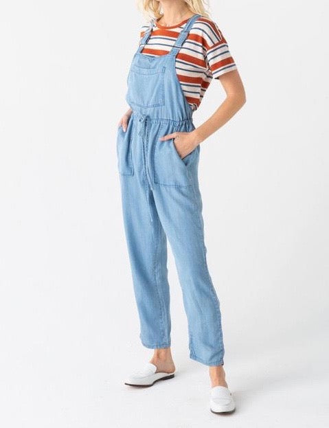 T&S Chambray Adjustable Overall