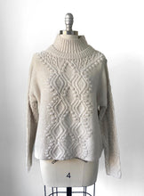 RD Cable Knit Turtleneck Sweater