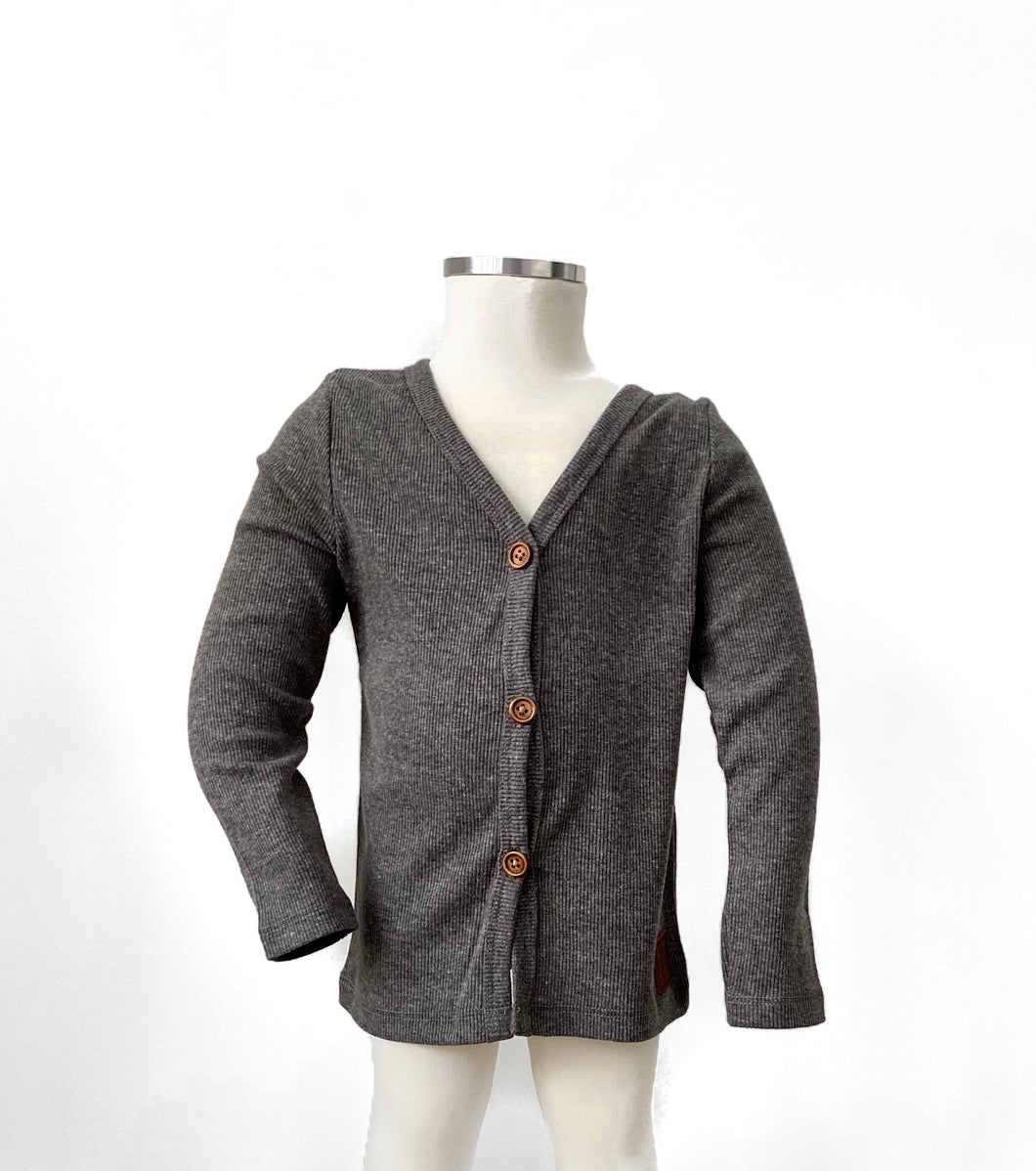 BH Dark Grey Infant Cardigan
