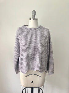 S&S Chenille Cropped Sweater