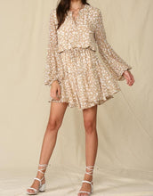 BT Leopard Chiffon Dress