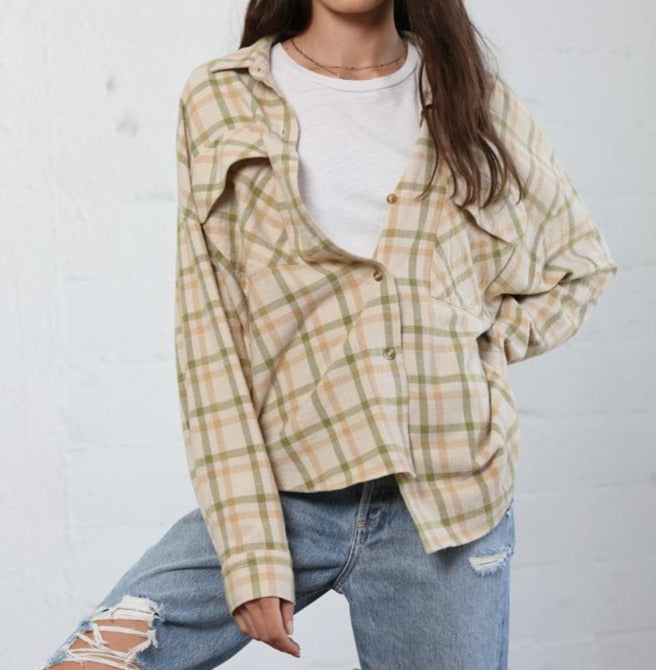 Relaxed fit Flannel