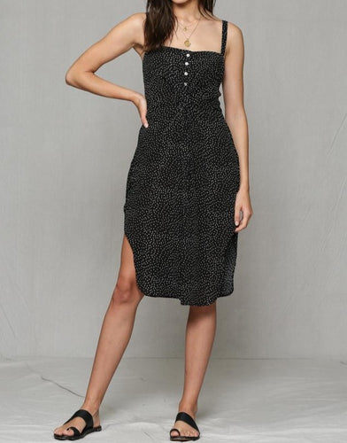 BT Polka Dot Dress with Twist Detail