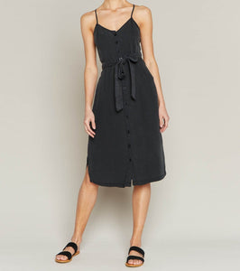 T&S Vintage Black Midi Dress