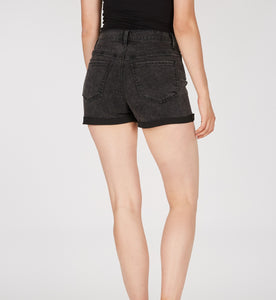 Numero High Waisted Exposed Button Short