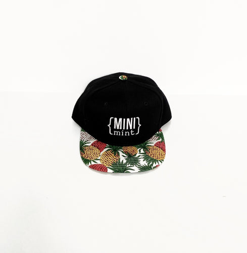 Mini Mint Youth Snapback Hat