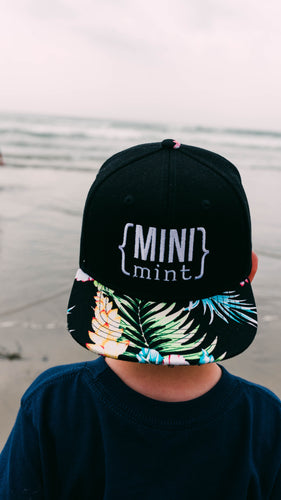 Mini Mint Infant Snapback Hat