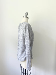 SF Brushed Hacci Thumbhole Pullover