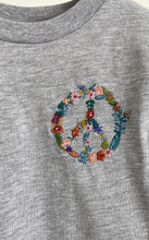 MM Floral Peace Sign T-Shirt