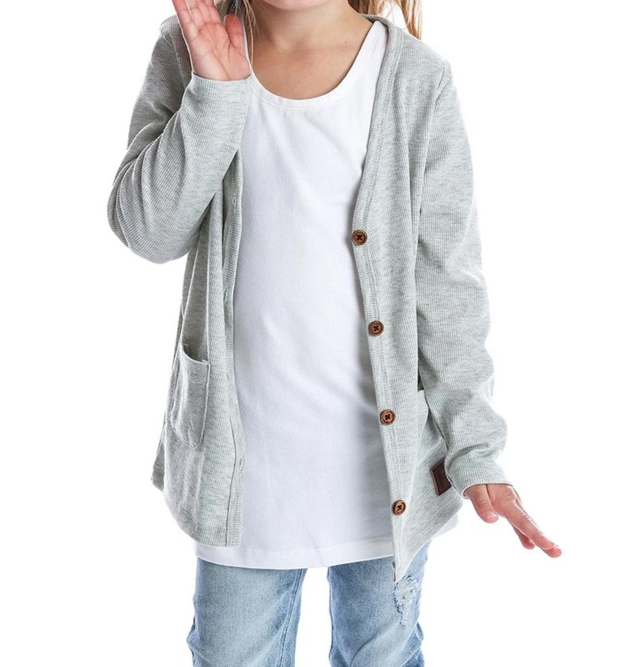 BH Kids Light grey Cardigan