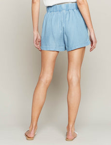 T&S Tencel Paper Bag Shorts