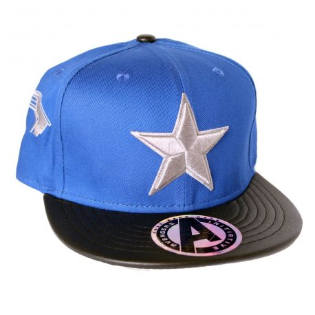 Casquette Captain America Marvel - Star Grey - MOVIESTORE