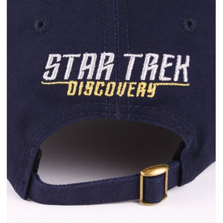 Casquette Star Trek Discovery - Costume Metal Logo - MOVIESTORE