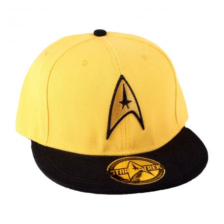 Casquette Star Trek - Yellow Logo - MOVIESTORE