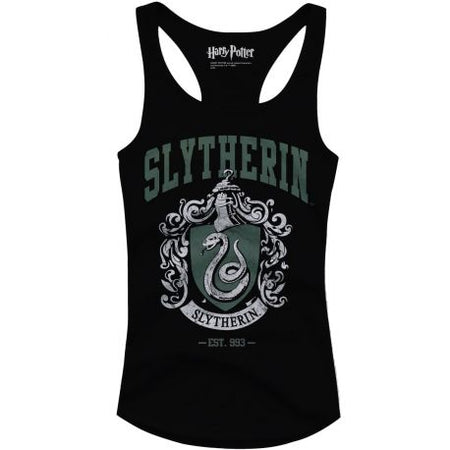 Debardeur Harry Potter femme - Slytherin Old School - MOVIESTORE