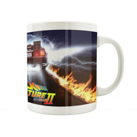 Mug Back to the Future - Fire Wheels - MOVIESTORE