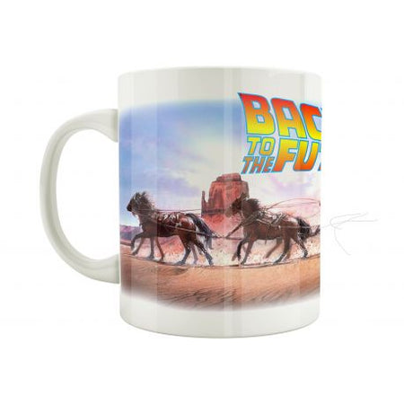 Mug Back to the Future - Horse road - MOVIESTORE