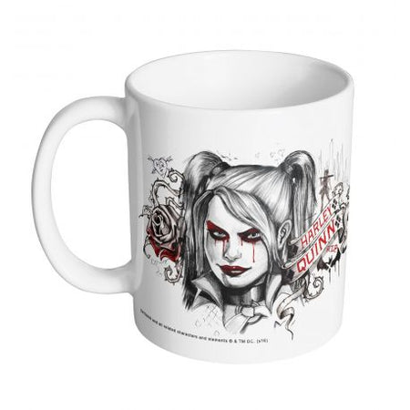 Mug Batman DC Comics - Harley Quinn Face - MOVIESTORE